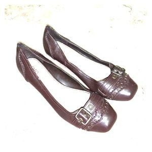 Brown Flat/Mini Heel